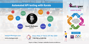 Codeathon -The Automated API testing with Karate starts on 03 Feb 2021 @ Virtual
