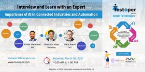 Meetup -Importance of AI in Connected Industries and Automation @ Virtual